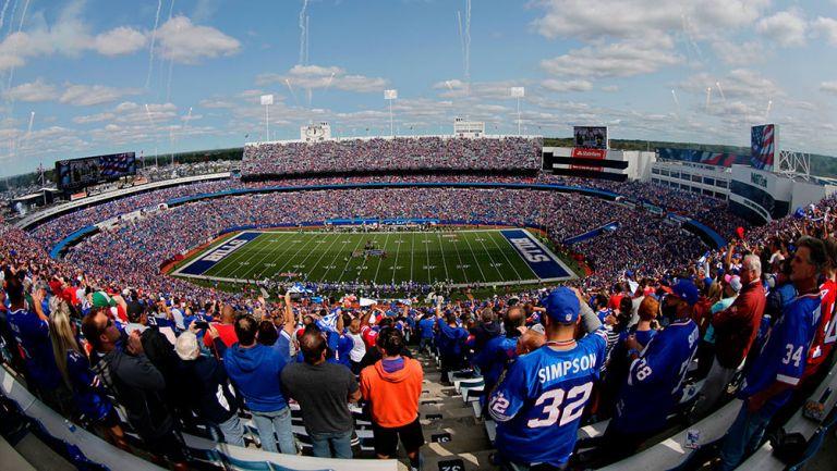 New Era Stadium, previo a un juego de los Bills
