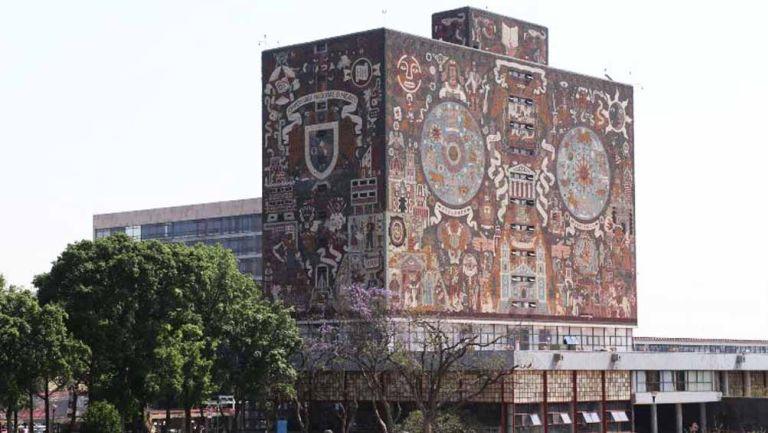 Edificio de rectoría de la UNAM