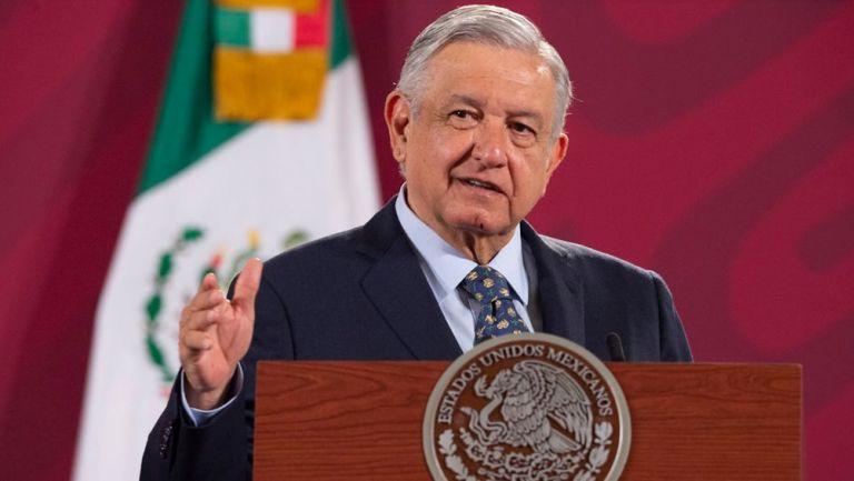 López  Obrador en conferencia en Palacio Nacional