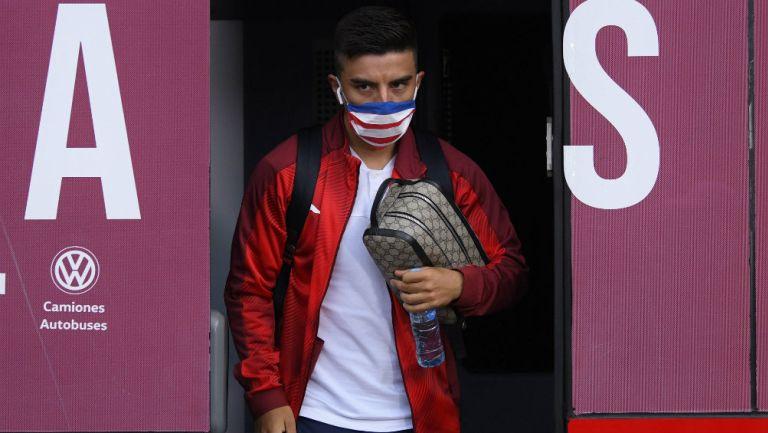 Chivas: Fernando Beltrán confesó que padece Coronavirus