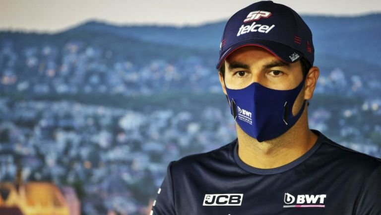 Sergio Pérez, piloto de Racing Point