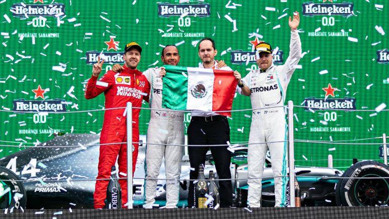 Hamilton en GP de México 2019