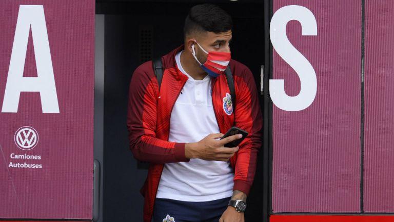 Alexis Vega previo a un partido