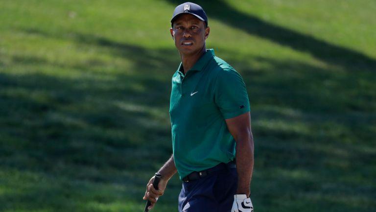 Tiger Woods durante su competencia en el Memorial
