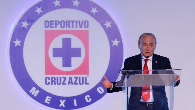 Billy Álvarez, Presidente de Cruz Azul
