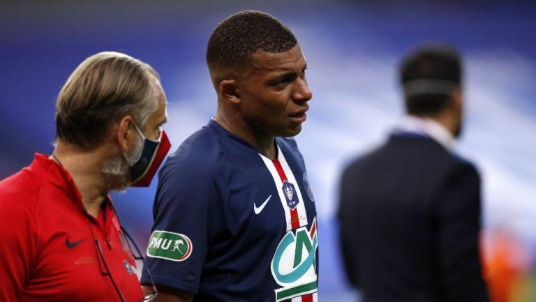Mbappé: Es baja tres semanas y se perderá duelo de Champions