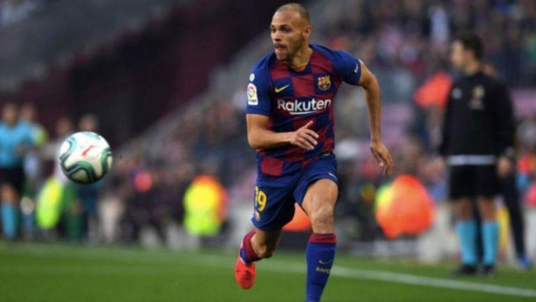 El futuro de Braithwaite estaría en la Premier League — Barcelona