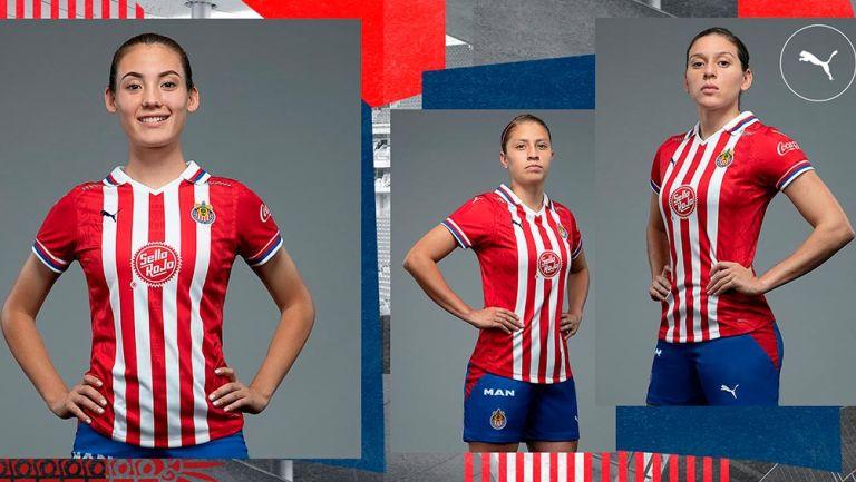 Chivas Femenil: Presentó sus uniformes para temporada 2020-2021
