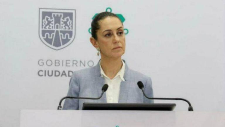 La jefa de Gobierno de CDMX, Claudia Sheinbaum