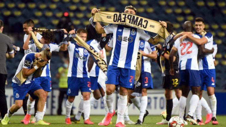 Porto en celebración de título