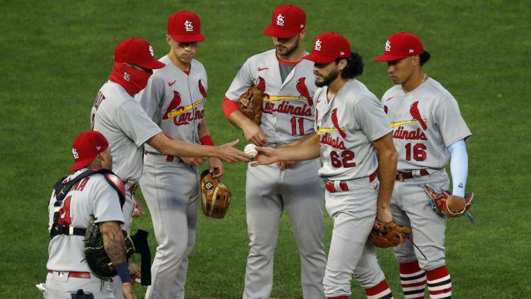 Cardinals previo a un partido