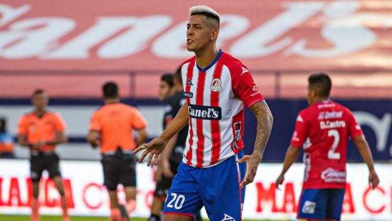 Mauro Quiroga: 'Memo Vázquez fue clave para que fichara con San Luis