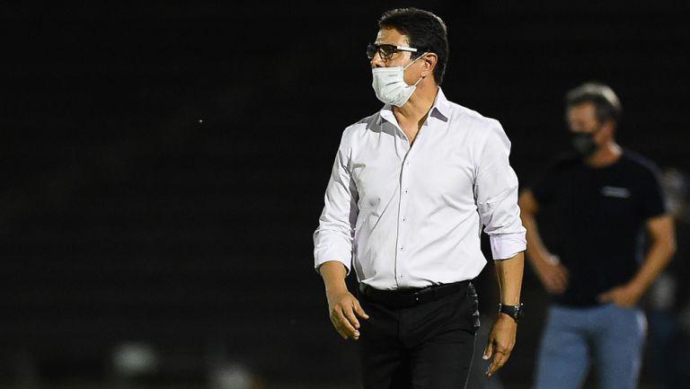 Alfonso Sosa durante el duelo ante FC Juárez