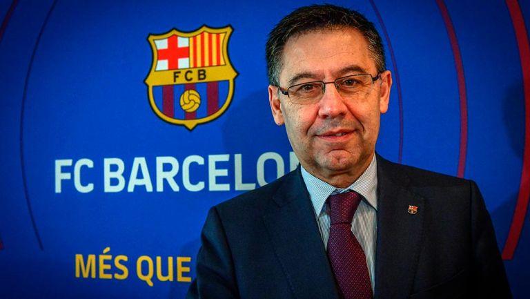 "Barcelona: Bartomeu admitió que no deja presidencia culé ""por responsabilidad"""