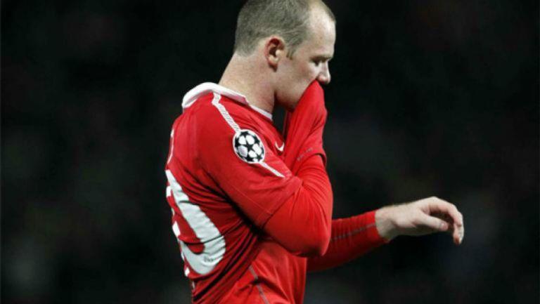 Rooney en lamento con el Manchester United