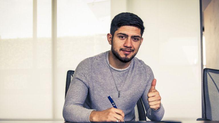 América: Sergio Díaz ya firmó contrato con las Águilas, será el número 6