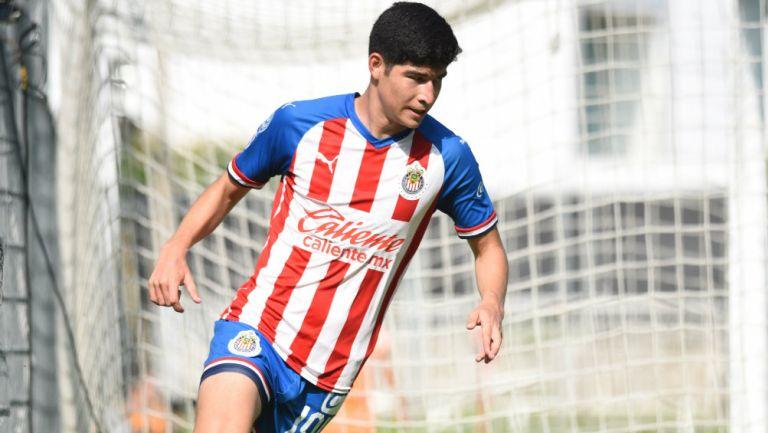 Zahid Muñoz en partido con Chivas