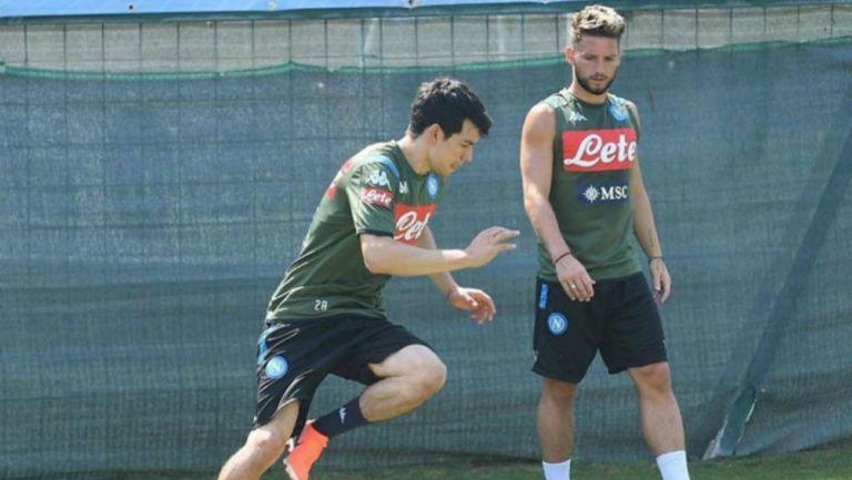 Chucky Lozano: 'Hirving ha empezado a hacer lo que le pedíamos', reveló Gattuso