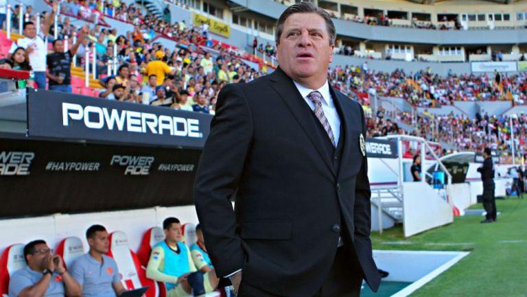 Miguel Herrera, técnico del América