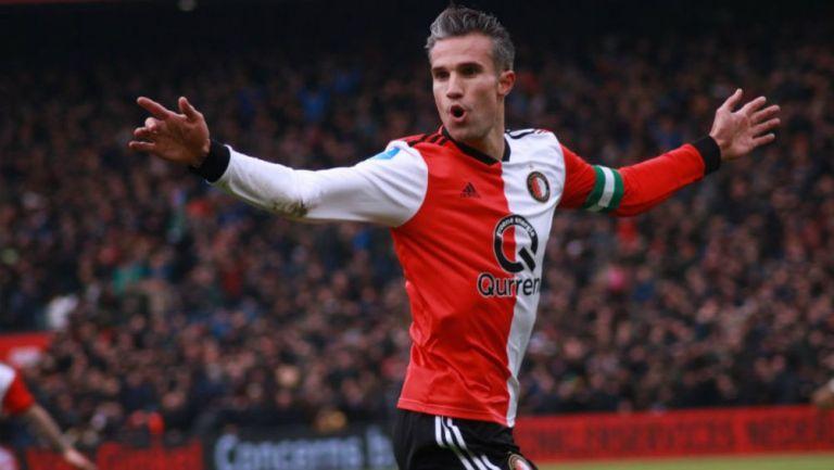 Robin van Persie como jugador del Feyenoord