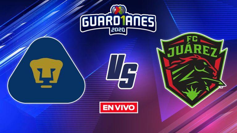 EN VIVO Y EN DIRECTO: Pumas vs FC Juárez