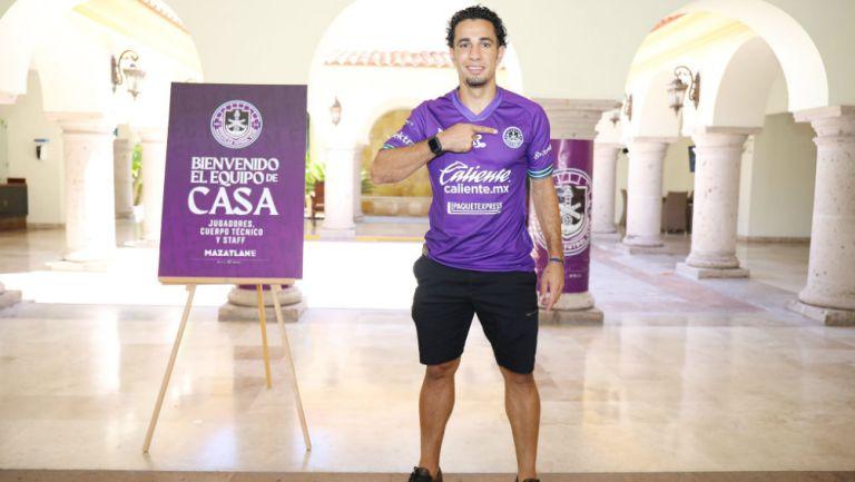 Mazatlán FC: Camilo Sanvezzo ya posó con la playera del club sinaloense