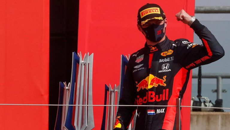 Max Verstappen rompió dominio de Mercedes y ganó el GP del 70 aniversario de F1