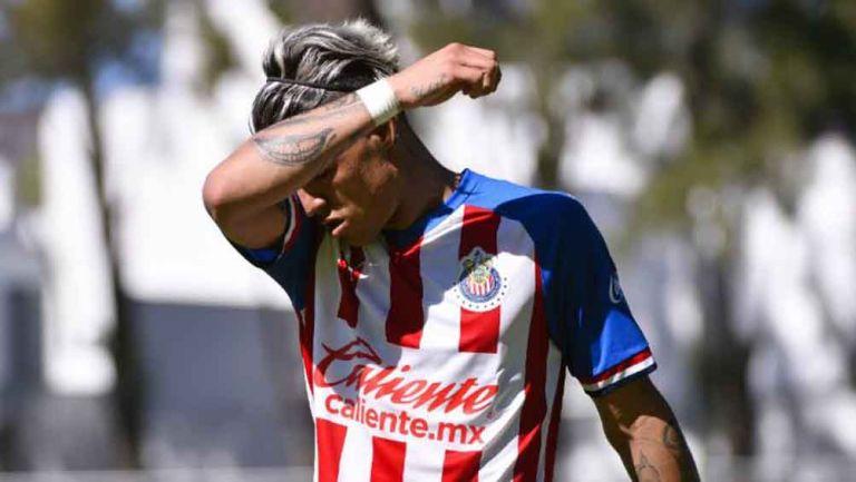 Chicote Calderón con la Sub 20 del Rebaño