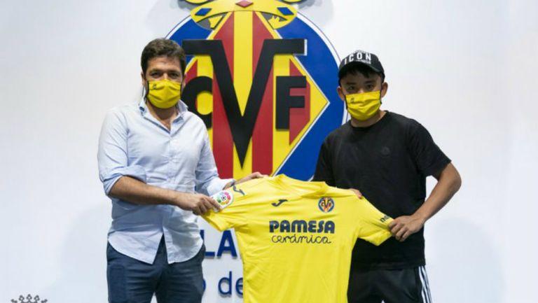 LaLiga: Villarreal oficializó llegada de Takefusa Kubo