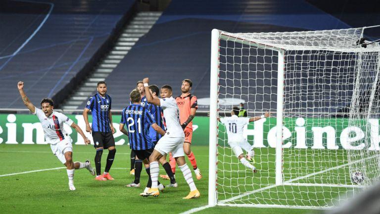Champions: París Saint-Germain remontó de último minuto al Atalanta y clasificó a Semifinales
