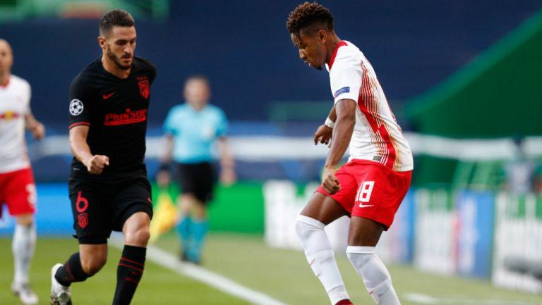 Koke, tras eliminación del Atlético de Madrid: 'En todo momento Leipizg fue mejor'
