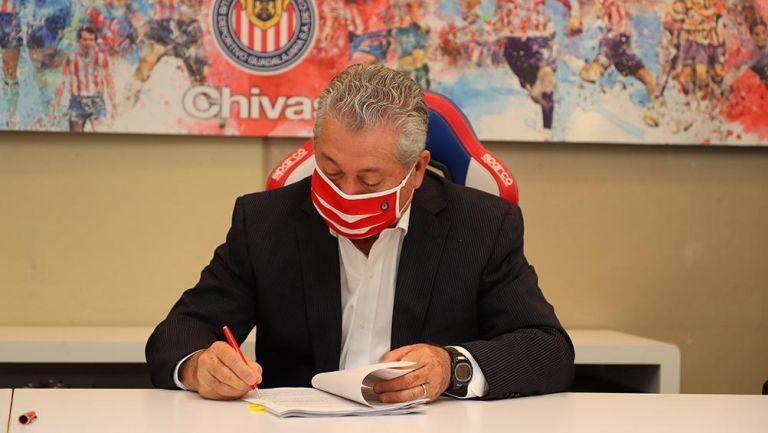 Víctor Manuel Vucetich: 'Chivas es el reto más importante'