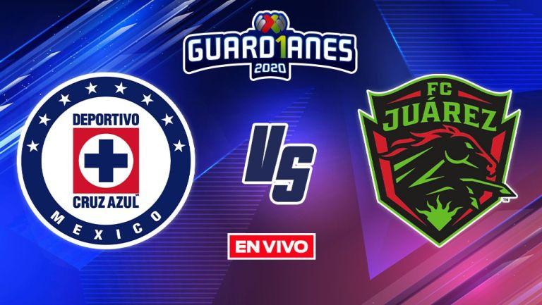 EN VIVO Y EN DIRECTO: Cruz Azul vs Juárez Apertura 2020 Jornada 5