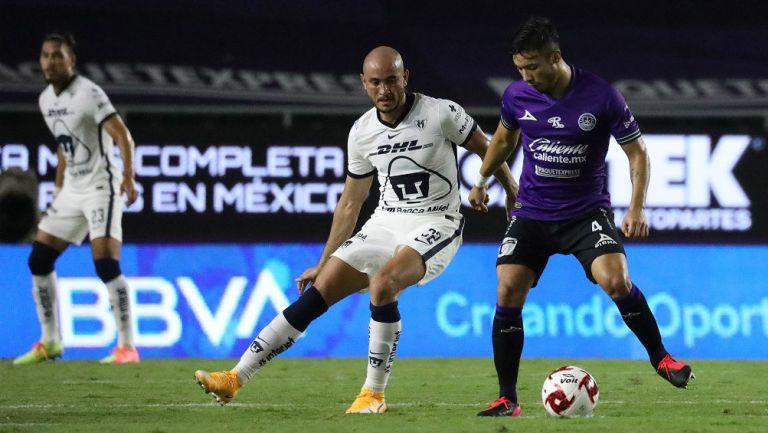 Pumas y Mazatlán FC no se hicieron daño en el 'Kraken'