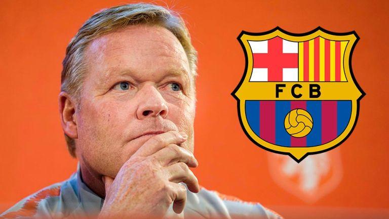 Oficial: Barcelona anunció a Ronald Koeman como su nuevo entrenador