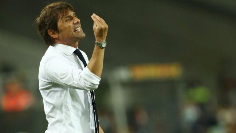 Antonio Conte, técnico del Inter de Milan