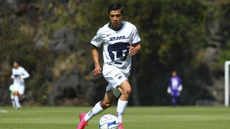 Bryan Lozano en partido con Pumas Tabasco