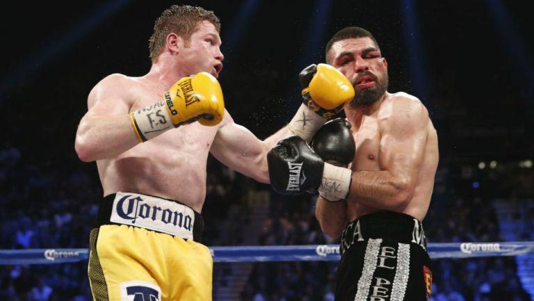 Canelo Álvarez: Perro Angulo desea revancha ante el boxeador tapatío