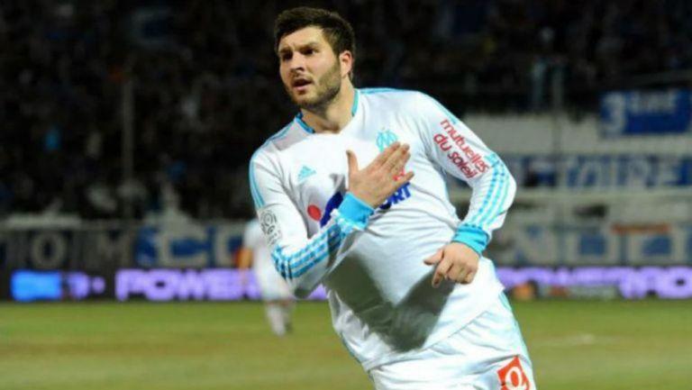 El delantero fue goleador en su etapa con Olympique de Marsella