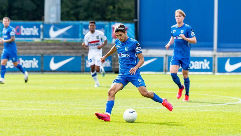 Gerardo Arteaga: Debutó en la Liga de Bélgica con el Genk, en derrota ante el Brugge
