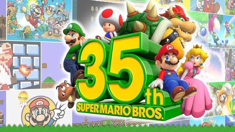 Presentación del '35 aniversario de Super Mario Bros'