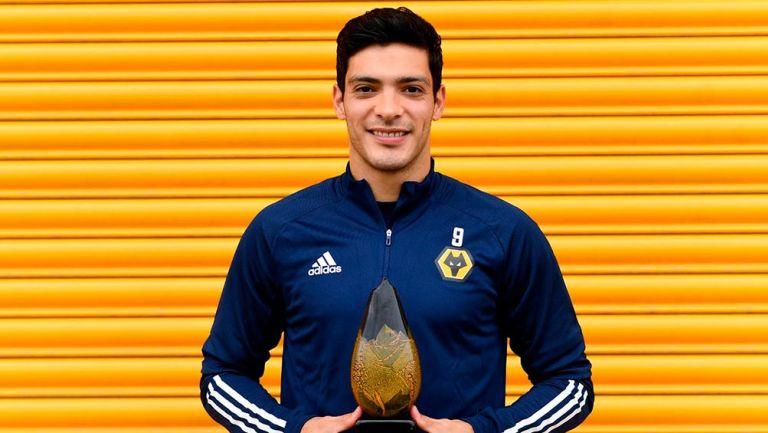 Raúl Jiménez: Elegido como el mejor jugador de la temporada por sus compañeros