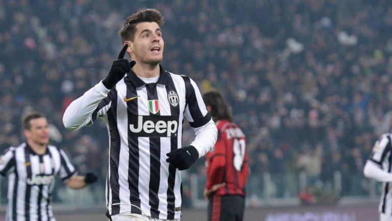 Juventus: Álvaro Morata interesaría a la Vecchia Signora