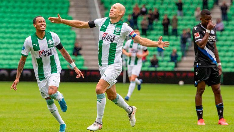 Video: Arjen Robben anotó un gol con el Groningen después de 18 años