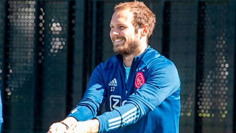 Ajax: Daley Blind volvió a entrenar tras desplomarse en un partido