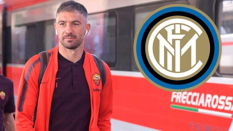 Aleksandar Kolarov previo a un duelo con la Roma en Serie A