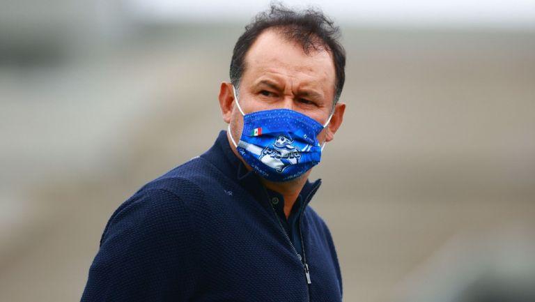 Puebla: Juan Reynoso explotó contra el arbitraje