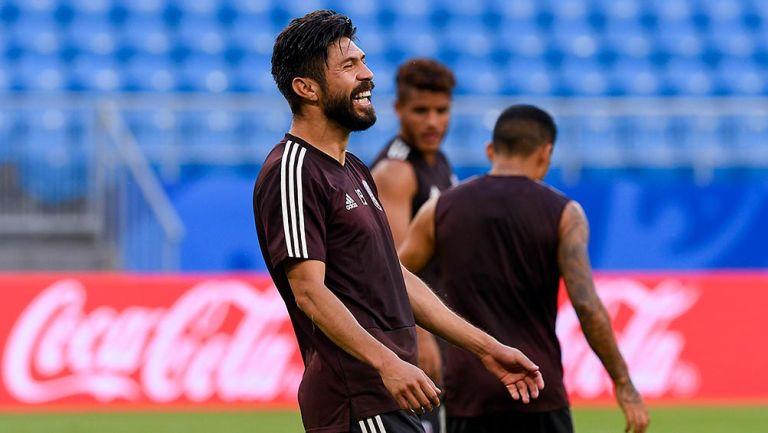 Selección Mexicana: Oribe Peralta ve a Chivas como base del Tri