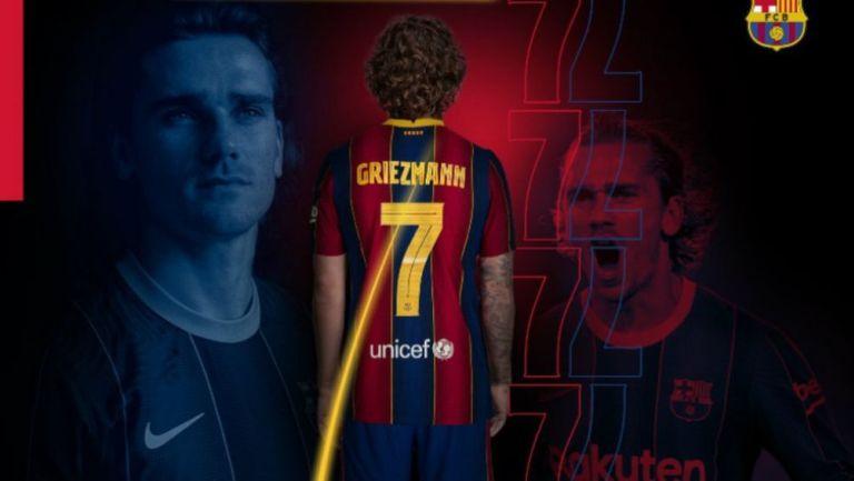 Antoine Griezmann, jugador del Barcelona