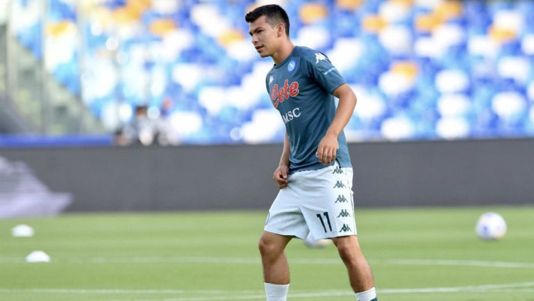 Chucky Lozano: Titular en juego en el que Napoli venció al Pescara